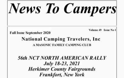 """September News to Campers""  is on Line"
